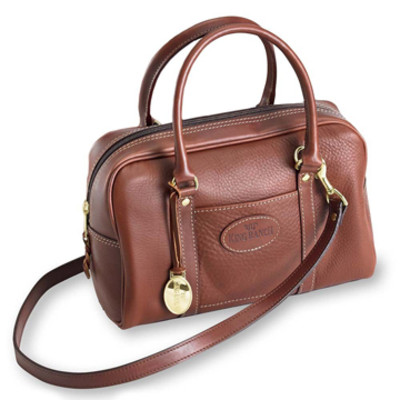Small Leather Henrietta Bag
