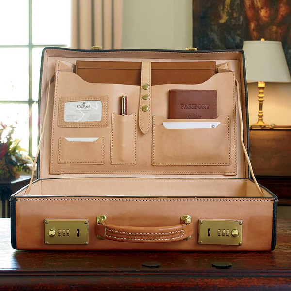Captain King Briefcase