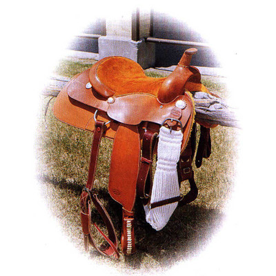 Buster Welch Cutting Saddle