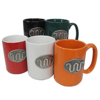 king ranch coffee mug with running 2 logo