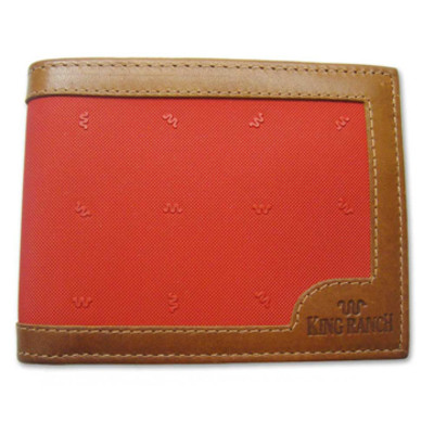 Red Gentleman's Wallet Canvas