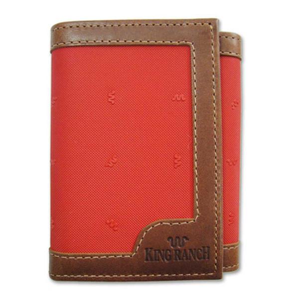 Tan Tri Fold Wallet Canvas