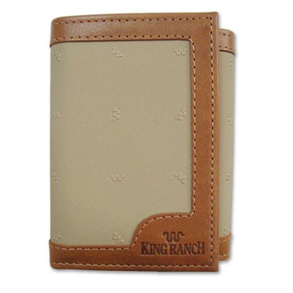 Maroon Tri-Fold Wallet Canvas