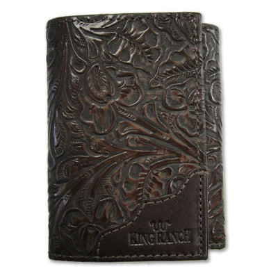 Tri-Fold Wallet SaddleTooled