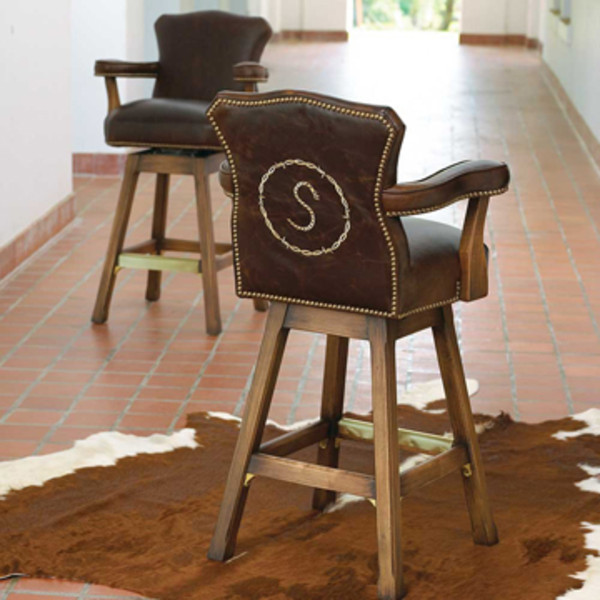 Personalized Bar Stool