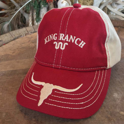 Youth Berry/Stone Longhorn Cap