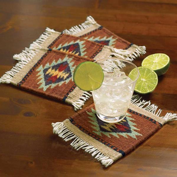 Zapotec Coasters Set King Ranch Saddle Shop