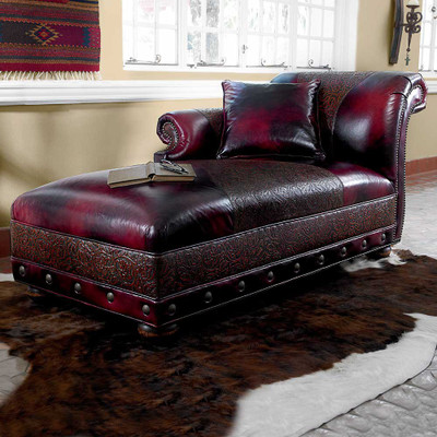 Black Cherry Chaise