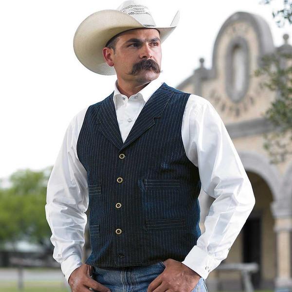 Lawman Vest King Ranch Saddle Shop