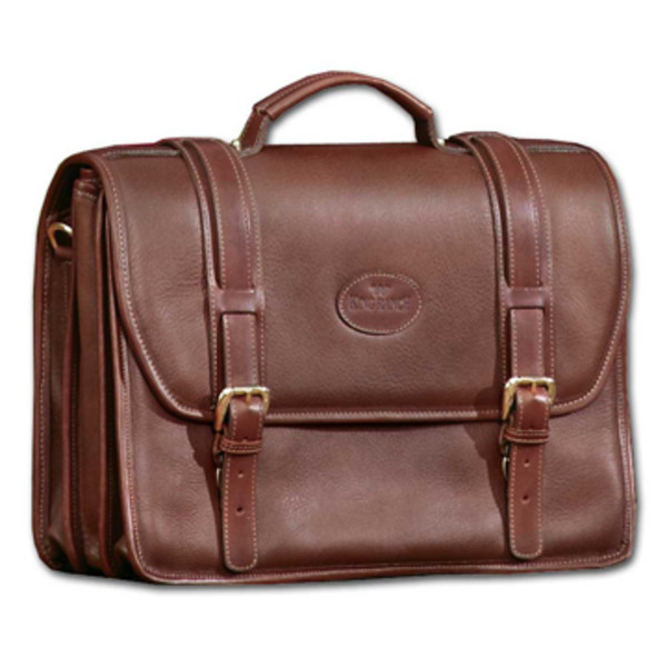 Terceto Leather Briefcase