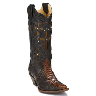 Cross Python Boots