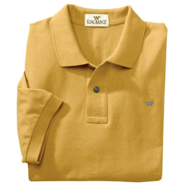 Gold Rancher's Polo Shirt