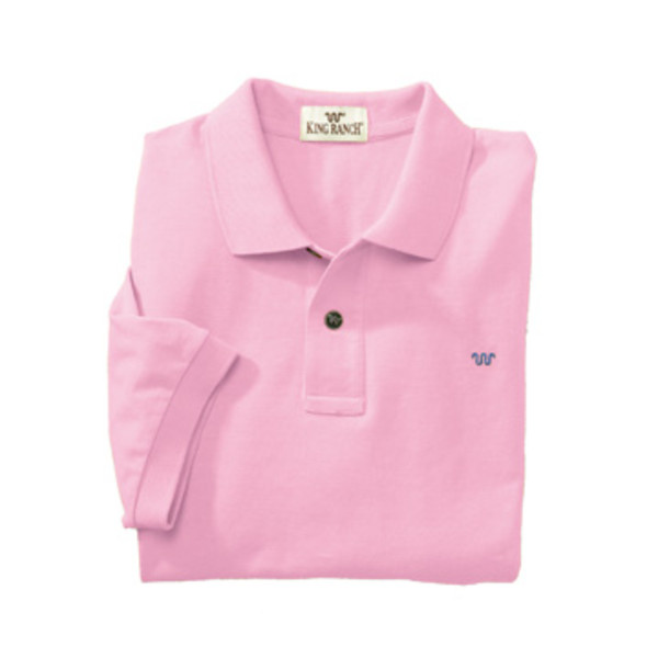 Pink Rancher's Polo Shirt