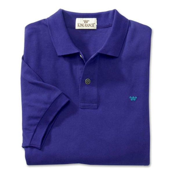 Purple Rancher's Polo Shirt