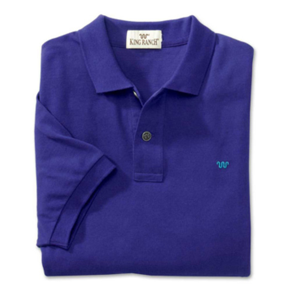 Purple Rancher's Polo Shirt