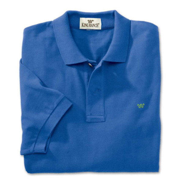 Royal Blue Rancher's Polo Shirt