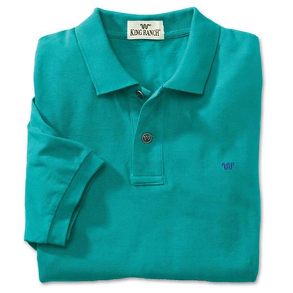 Teal Rancher's Polo Shirt