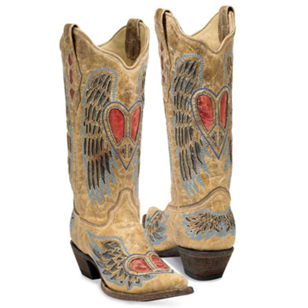 Heart Wing Boots