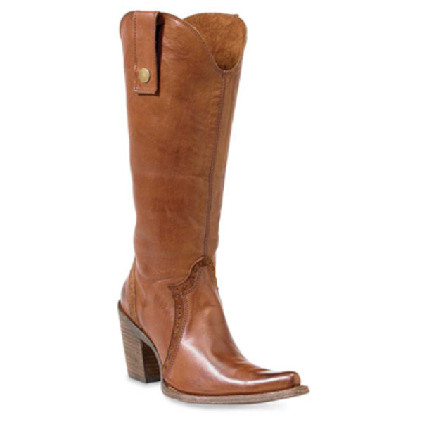 Tan Ladies Convertible Boots