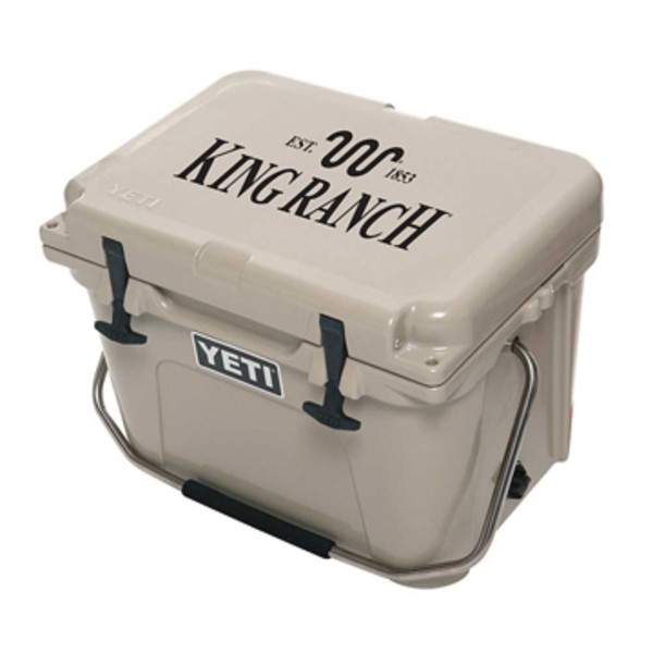 Tan Yeti Roadie Cooler