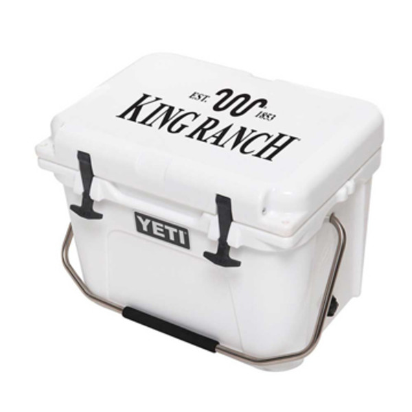 White Yeti Roadie Cooler