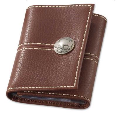 Buffalo Nickel Trifold Wallet