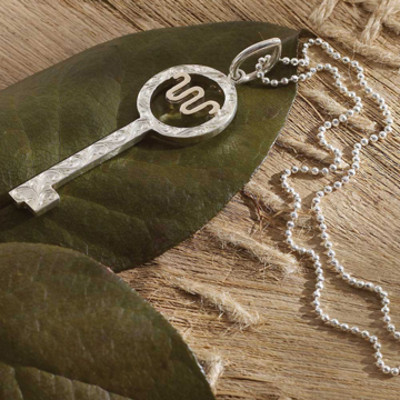 King Ranch Key Pendant Necklace - King Ranch Saddle Shop