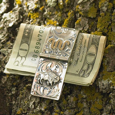 Bison Money Clip