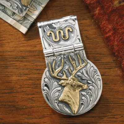Deer Money Clip
