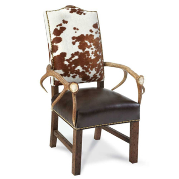 Elk Horn Arm Chair King Ranch Saddle Shop