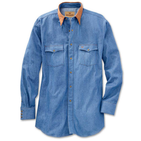 Cattleman Denim Shirt