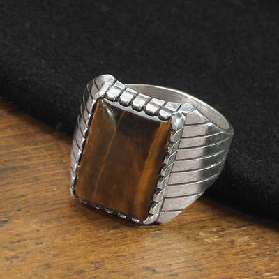 Men's Tiger Eye Ring