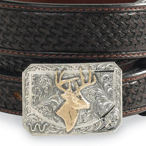 Whitetail Belt Buckle