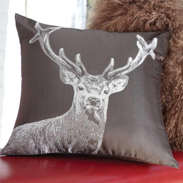 Silver Deer Pillow