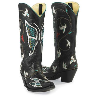 Butterflies & Flowers Boots