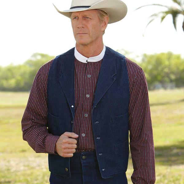 Denim Ranch Vest