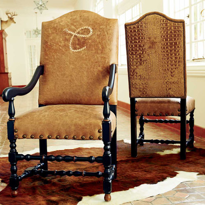 Rope Monogram Arm Chair