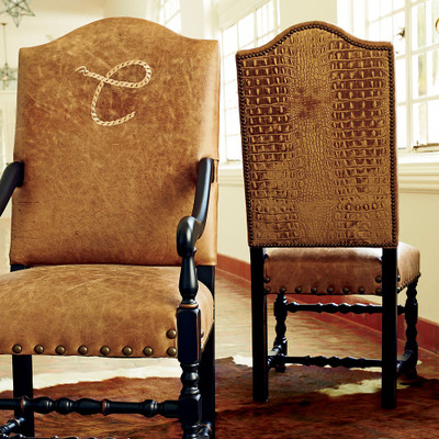 Rope Monogram Side Chair