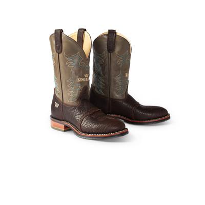 Running W® Bison Roper Cowboy Boot