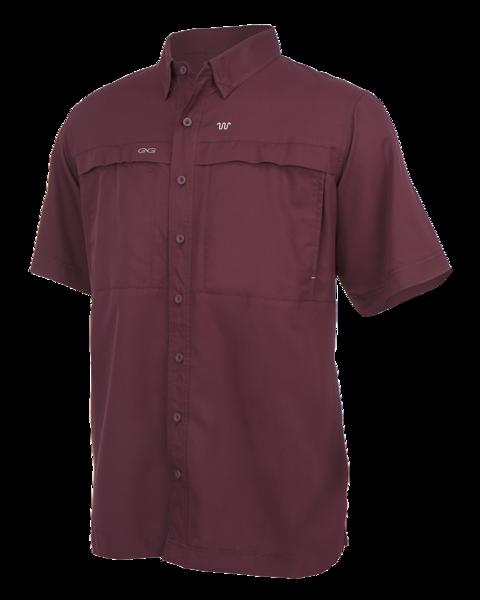 Maroon Game Guard Microfiber Shirt