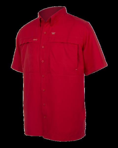 Red Game Guard Microfiber Shirt