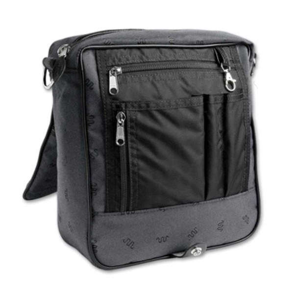 Open Platinum Courier Bag