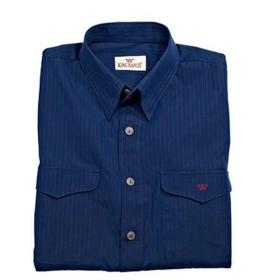 Colt Shirt - Navy w/Red Stripe