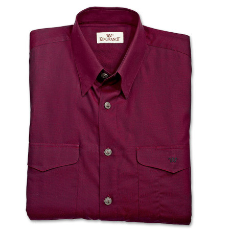 Colt Shirt - Burgundy Solid