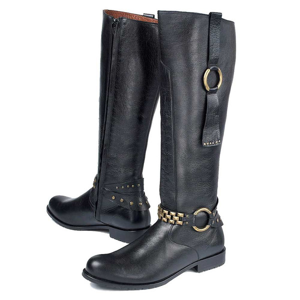 Tasseled Riding Boot