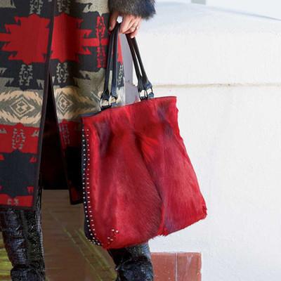 Springbok Hair-On-Hide Bag