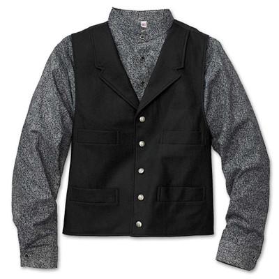 Scalloped Front Bib Shirt