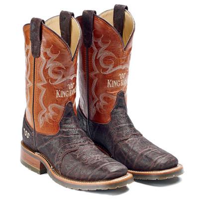 Square Toe Elephant Cowboy Boots