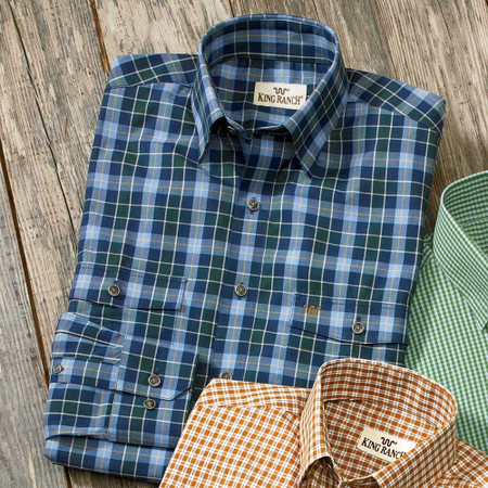 Blue/Green Check Remington Shirt