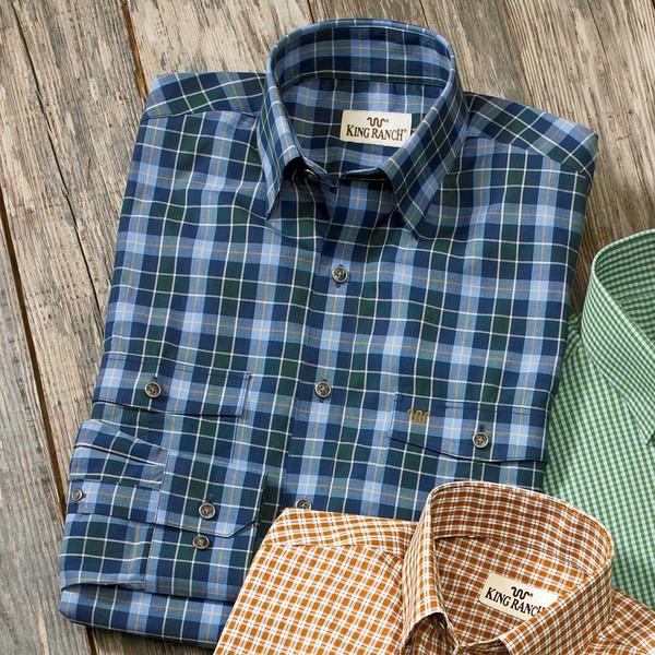 Blue/Green Check Remington Shirt